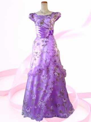 813629bb6a110d Miss Rose ロングドレス パープル 6773 /演奏会・ラミューズドレス通販