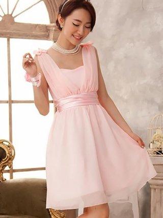 妖精ミニワンピース ピンク・ラベンダー 04081545/ 演奏会 ラミューズドレス通販