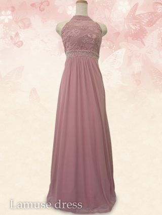 自由の女神 アメスリ ロングドレス・ピンク 8333/ 演奏会 ラミューズドレス通販