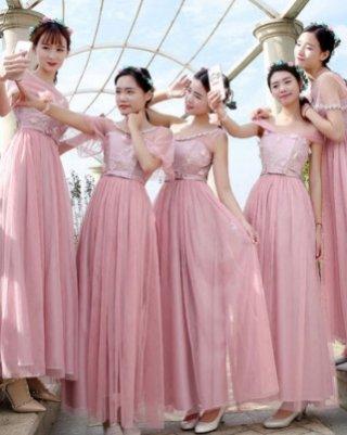 グループの衣装に最適☆アポロンシリーズ・ピンクhxhyy26/ 演奏会 ラミューズドレス通販