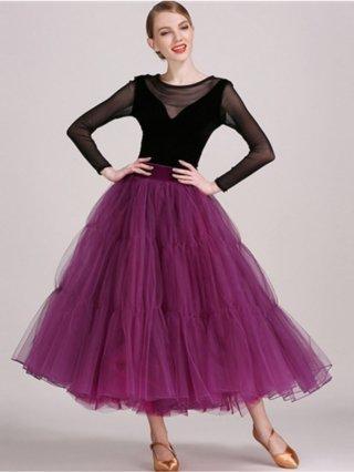ベロア素材★セパレートドレス/ダンスにも♪077/ 演奏会 ラミューズドレス通販