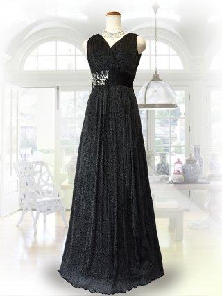 ラメブラック*ロングドレス 1303/演奏会ステージドレス