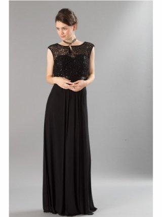 フューシャブラック ロングドレス 8472 演奏会 ラミューズドレス通販