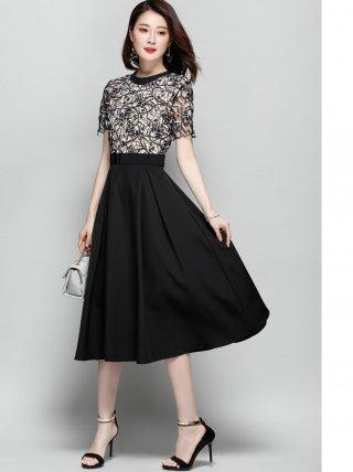 背の低い方にはロングドレスに&ワンピース☆LA10/ラミューズドレス 演奏会