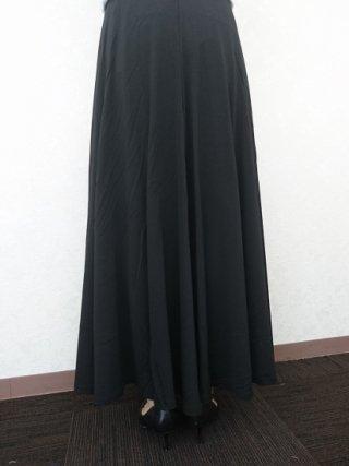 定番♪黒ロングスカート ストレートライン/演奏会 ラミューズドレス通販