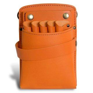 美容師シザーケース PS−401-4 オレンジ