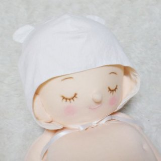 くま耳帽子