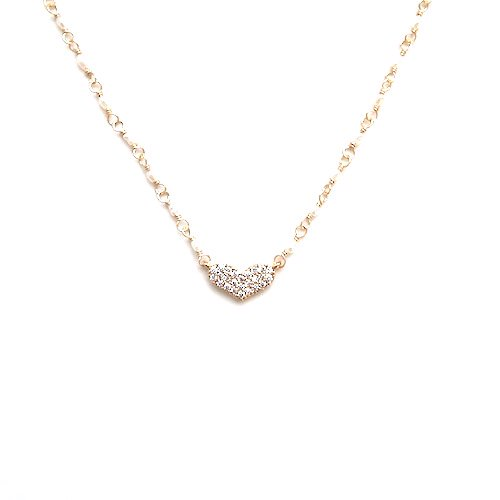 Pearl heat necklace