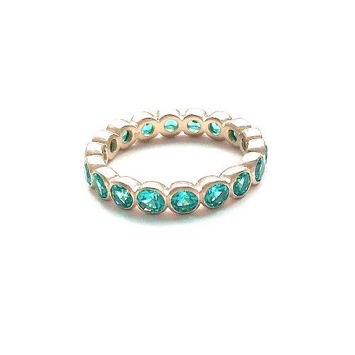 Cyan blue ring