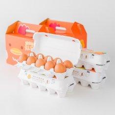 【イラストバージョン】ギフトセット(20個入り x 2セット)卵Lサイズ