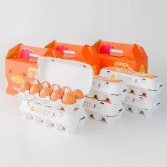 【イラストバージョン】ギフトセット(20個入り x 3セット)卵Lサイズ