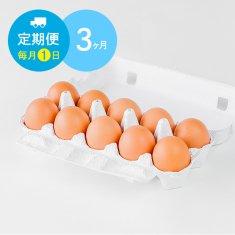 【毎月1日に3ヶ月間お届け】栄味卵(10個)