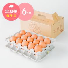 【毎月1日に6ヶ月間お届け】栄味卵(30個)