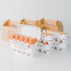 ギフトセット(20個入り x 3セット)卵Mサイズ