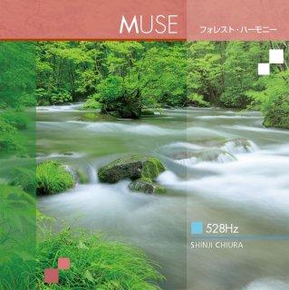 [ 涼感音楽 ]【 528Hz ヒーリング CD 】 MUSE (ミューズ)  フォレスト・ハーモニー / 知浦伸司 ANP-3006 著作権フリー 試聴あり [メール便送料無料] (2018)