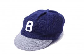 <img class='new_mark_img1' src='https://img.shop-pro.jp/img/new/icons20.gif' style='border:none;display:inline;margin:0px;padding:0px;width:auto;' />KNIT BASEBALL CAP/BIRVIN UNIFORM 通常価格¥9,680→【40%OFF】