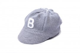 <img class='new_mark_img1' src='//img.shop-pro.jp/img/new/icons20.gif' style='border:none;display:inline;margin:0px;padding:0px;width:auto;' />KNIT BASEBALL CAP/BIRVIN UNIFORM 上代¥9,504→【30%OFF】