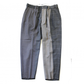 <img class='new_mark_img1' src='https://img.shop-pro.jp/img/new/icons7.gif' style='border:none;display:inline;margin:0px;padding:0px;width:auto;' />Multi wool wide tapered trousers / RICHFIELD(リッチフィールド)