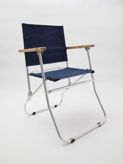 CA055  ROVER ARMY CHAIR type FOLDING CHAIRS / ALUMI FRAME x NAVY USPS CORDURA NYLON SHEET