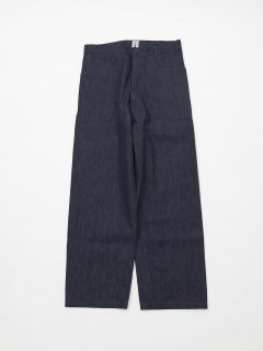 NAVY SLACKS / 8.5oz DENIM/INDIGO