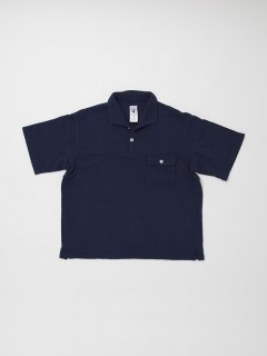 <img class='new_mark_img1' src='https://img.shop-pro.jp/img/new/icons59.gif' style='border:none;display:inline;margin:0px;padding:0px;width:auto;' />CC005 NAVY UTITLITY SHIRT / COTTON KANOKO / NAVY