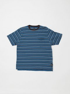CC010  CORONA・STRIPE POCKET TEE 19 / MULTI STRIPE JERSEY / BLUE