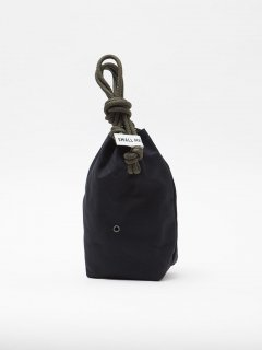 CB007  SMALL MEDIUM・PERSONAL EFFECTS BAG   / COTTON DUCK / BLACK