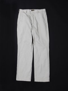 CP056  FRENCH CAFEE PANTS / COTTON PIQUE / OFF-WHITE