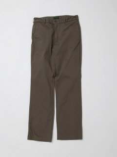 CP056  FRENCH CAFFE PANTS / COTTON PIQUE / OD