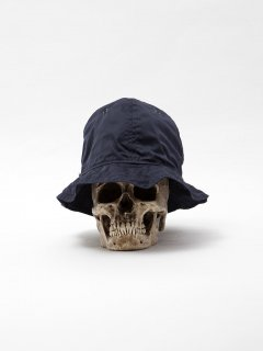 CA005  LUCY TAILOR・HAND MADE REVERSIBLE UTICA HAT / NAVY