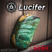 Asvape Lucifer Stabilized Wood 240W Variable Voltage Mod(ルシファースタビライズドウッド)【アスベイプ】【ボックスタイプ BOX】