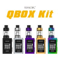 SMOK QBOX Kit(キューボックス)【スモーク】【スターターキット】【温度管理機能】【サブオーム SUBΩ】【ボックスタイプ BOX】