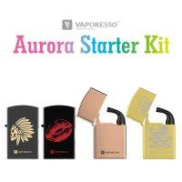 Vaporesso Aurora Starter Kit(オーロラ)【ベイパレッソ】【初級者向け スターターキット】【女性向け】【ボックスタイプ BOX】