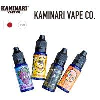 【ネコポス対応可】KAMINARI VAPE CO.【15ml カミナリ フレーバーリキッド】