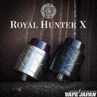COV-THE COUNCIL OF VAPOR- Royal Hunter X RDA(ロイヤルハンターエックス)【カウンシルオブベイパー】【アトマイザー】