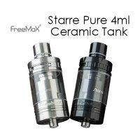 FreeMax Starre Pure 4ml Ceramic Tank(スターレピュアセラミック)【フリーマックス】【アトマイザー】