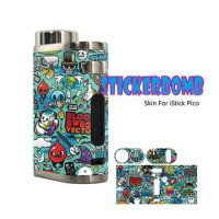 STICKERBOMB Skin For iStick Pico No.009【ステッカーボム】【スキンステッカー】【ラッピングステッカー】【ラッピングシート】