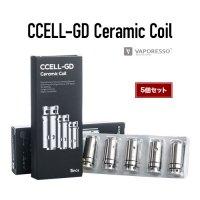 Vaporesso CCELL-GD Ceramic Coil 5個セット(シーセル)【ベイパレッソ】【Target Mini用コイル】