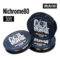【22AWG/23AWG/24AWG/26AWG/28AWG/30AWG】Coil Monsta Nichrome80 Wire 30ft(ニクロムワイヤー)【コイルモンスター】【RBA】