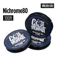 【49AWG/51AWG】Coil Monsta Nichrome80 Wire 100ft(ニクロムワイヤー)【コイルモンスター】【RBA】