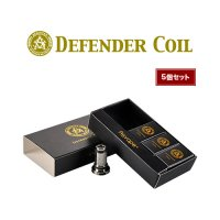 【ネコポス対応可】Asvape Defender Coil 5個セット【アスベイプ ディフェンダー コイルユニット】