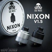 GAS MODS NIXON V1.5 RDTA(ニクソン)【ガスモッズ】【アトマイザー】