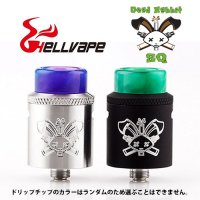 <img class='new_mark_img1' src='//img.shop-pro.jp/img/new/icons1.gif' style='border:none;display:inline;margin:0px;padding:0px;width:auto;' />HELLVAPE Dead Rabbit SQ RDA/BF 22mm(デッドラビット)【ヘルベイプ】【アトマイザー】