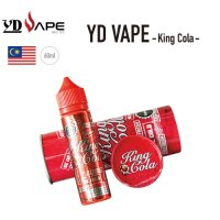 <img class='new_mark_img1' src='//img.shop-pro.jp/img/new/icons1.gif' style='border:none;display:inline;margin:0px;padding:0px;width:auto;' />YD VAPE King Cola(キングコーラ)【ワイディーベイプ】【フレーバーリキッド】