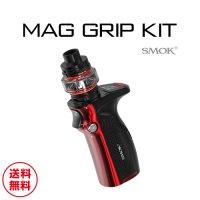【60ml相当分リキッドサービス】SMOK MAG GRIP 100W Kit(マググリップ)【スモーク】【温度管理機能 サブオーム対応 ボックスタイプ】