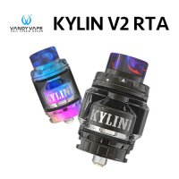 VANDY VAPE KYLIN V2 RTA  24mm(キリン)【ヴァンディーベイプ】【アトマイザー】