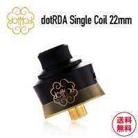 <img class='new_mark_img1' src='https://img.shop-pro.jp/img/new/icons1.gif' style='border:none;display:inline;margin:0px;padding:0px;width:auto;' />dotMod dotRDA Single Coil 22mm【ドットモッド】【アトマイザー】