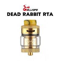 HELLVAPE DEAD RABBIT RTA 25mm(デッドラビット)【ヘルベイプ】【アトマイザー タンク式 デュアルデッキ VAPE】