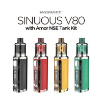 <img class='new_mark_img1' src='https://img.shop-pro.jp/img/new/icons1.gif' style='border:none;display:inline;margin:0px;padding:0px;width:auto;' />WISMEC SINUOUS V80 with Amor NSE Tank Kit(シニュアス)【ウィズメック 電子タバコ VAPE】