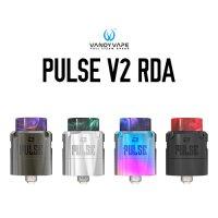 VANDY VAPE PULSE V2 RDA 24mm(パルス)【ヴァンディーベイプ BF対応 電子タバコ VAPE アトマイザー シングル デュアル デッキ 直径 24mm】